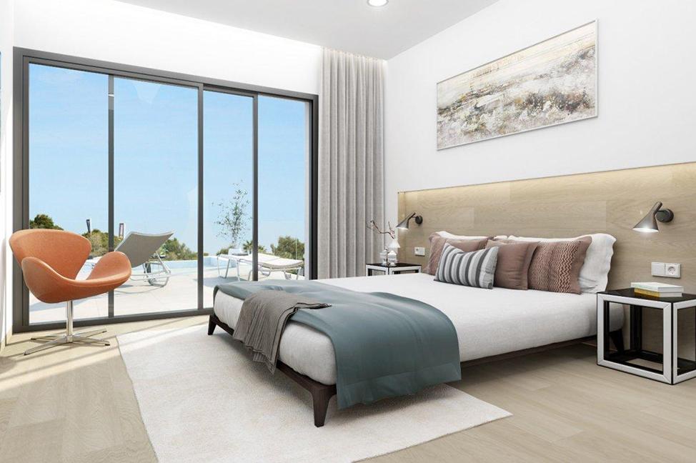 habitación - Impresionante villa en Alicante, moderna y con amplias zonas verdes
