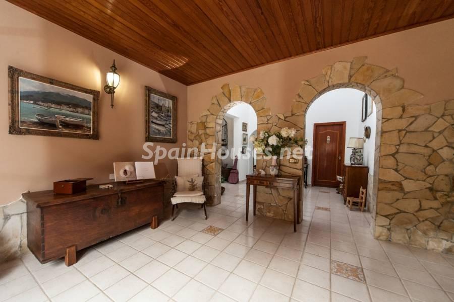 hall distribuidor - Sabor canario en una fantástica casa con piscina y jardin en Arona (Tenerife)