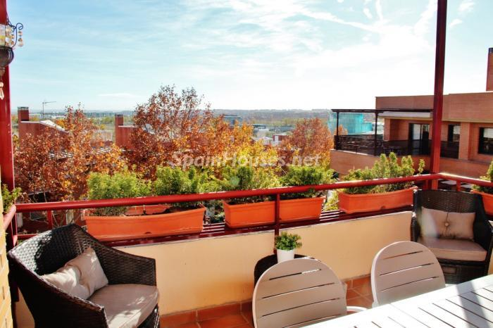 hortaleza madrid - 17 espectaculares áticos con terrazas llenas de sol, luz, espacios relajantes y vistas al mar