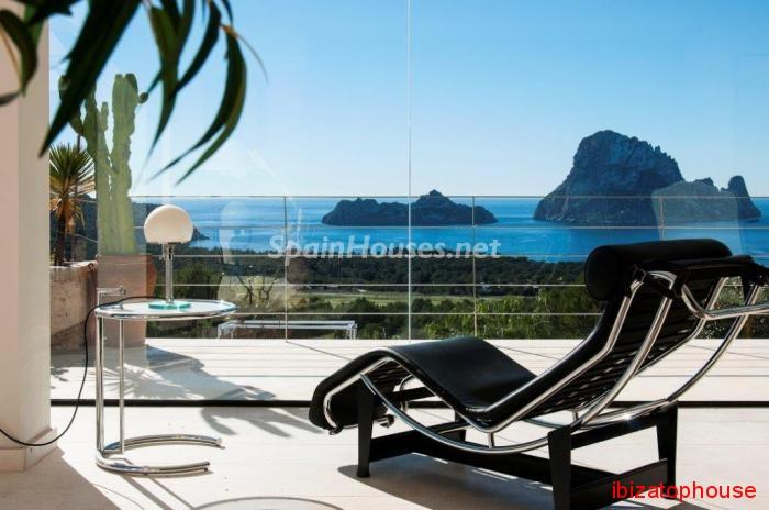 ibiza terraza - Sueños de verano: 14 espectaculares terrazas que miran al mar