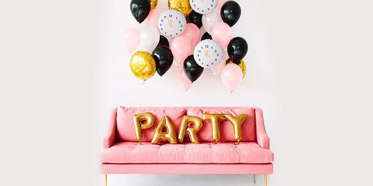 ideas 2019 fiesta pinterest - Ideas decorativas para la fiesta de Año Nuevo