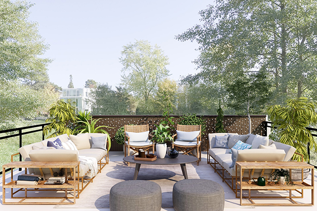 ideas para decorar una terraza faciles y asequibles - Ideas para decorar una terraza fáciles y asequibles