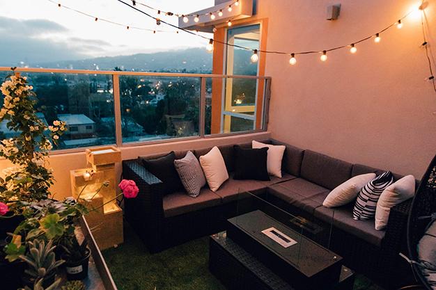 iluminacion - Ideas para decorar una terraza fáciles y asequibles