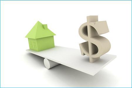 hipoteca mayor que el valor de la casa