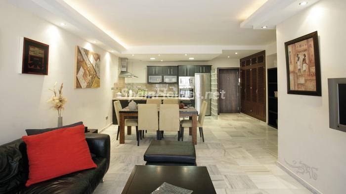 interior 1 - Precioso apartamento con decoración elegante y serena junto al mar en Marbella