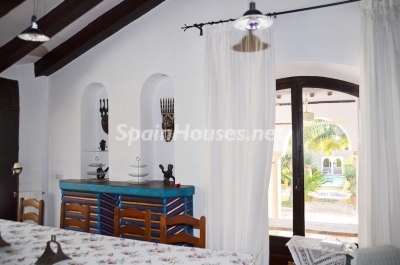 interior 2 - Vacaciones llenas de encanto en un cortijo andaluz en Frigiliana (Costa del Sol, Málaga)