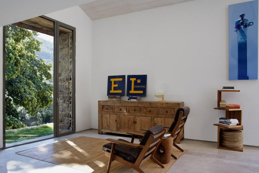 interior vistas2 - De antiguo establo rural a fantástica casa rústica en Cáceres: un remanso de paz y naturaleza