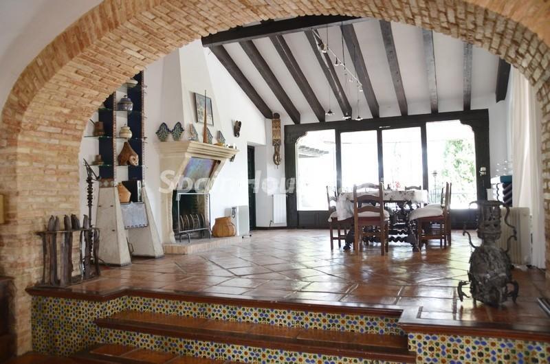 interior1 1 - Vacaciones llenas de encanto en un cortijo andaluz en Frigiliana (Costa del Sol, Málaga)