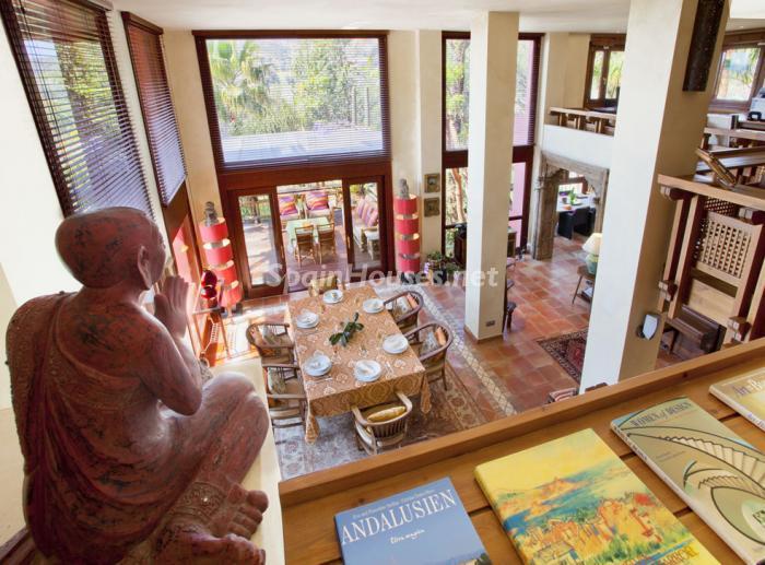 interior11 - Genial villa de vacaciones en El Rosario, Marbella, con una preciosa decoración oriental