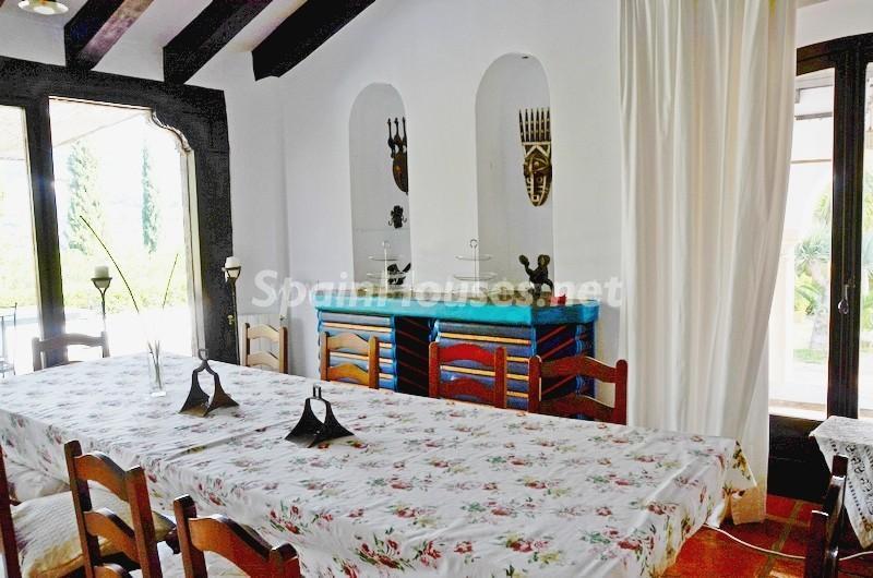 interior2 1 - Vacaciones llenas de encanto en un cortijo andaluz en Frigiliana (Costa del Sol, Málaga)