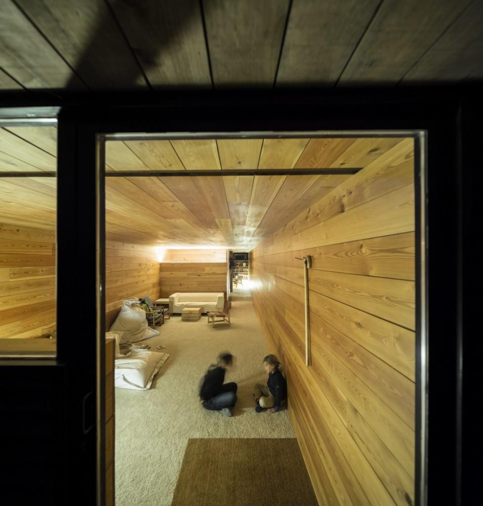 interior31 - Genial casa de diseño moderno y minimalista en los campos de Castilla