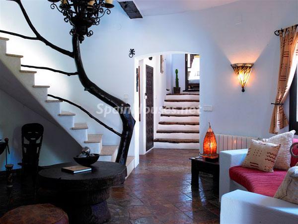 interior5 - Casa de la Semana: Fantástica villa de lujo con estilo y diseño ibicenco
