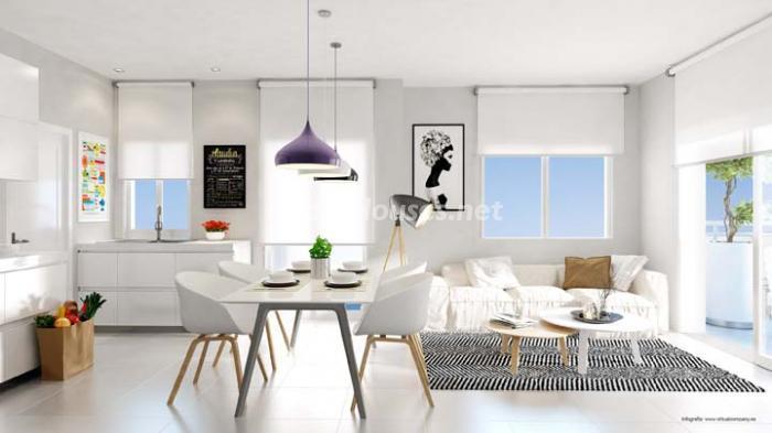 interior8 - Bonito piso de nueva construcción en Santa Pola, Calas Santiago Bernabéu (Costa Blanca)
