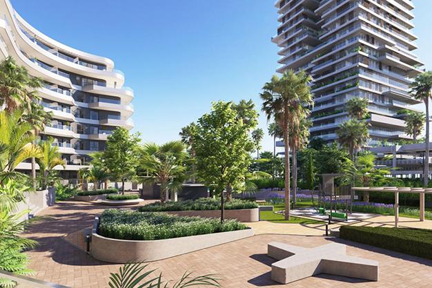 introducción - Moderno apartamento en Málaga, primera línea de playa