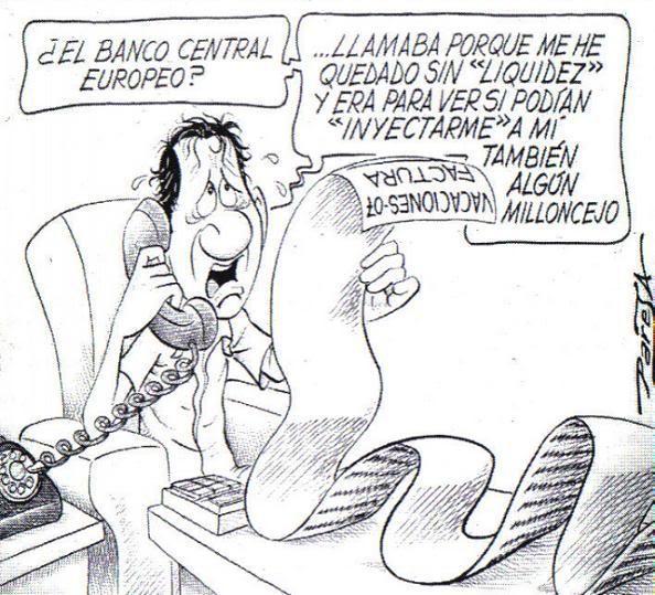 inyeccion de dinero1 - Medio millón de familias españolas se quedará sin su vivienda durante 2012