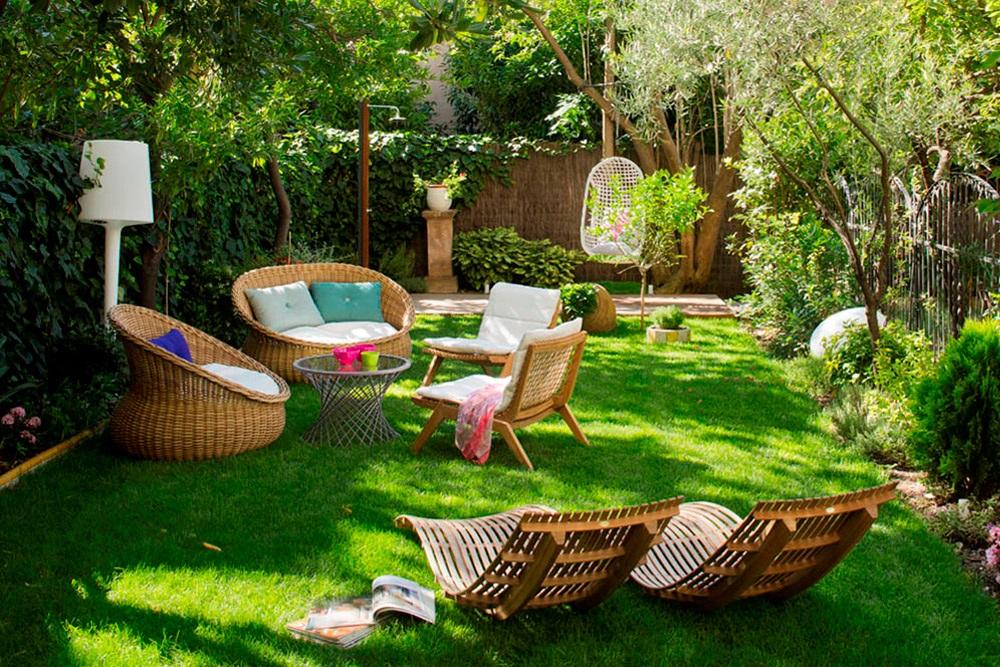 """jardin 9 - Toque """"Art Novou"""" con jardín en una elegante casa modernista en Barcelona"""