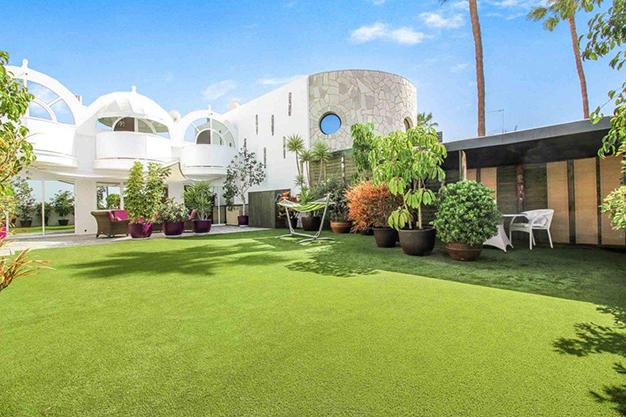 jardin las palmas - Excepcional villa con terrazas en Las Palmas: increíbles vistas al mar hasta el Teide