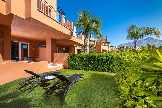 jardin marbella - Este apartamento en venta en Marbella es el hogar perfecto para vivir en un entorno natural único y ser feliz