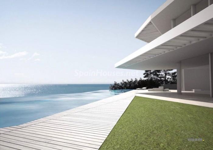 javea alicante 2 - 15 preciosas y modernas casas con espectaculares piscinas que miran al mar