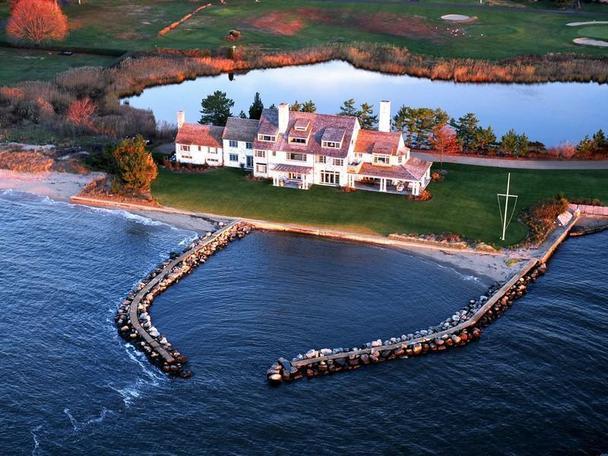 La Casa de Katharine Hepburn en Connecticut
