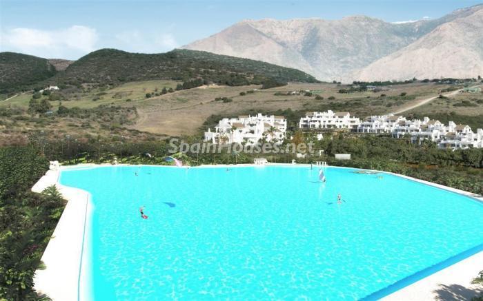 laguna - Crystal Lagoons, Casares (Málaga): Apartamentos en 1ª línea de playa, a 10 km del mar