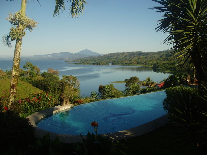 lake arenal - Mel Gibson compra casa en Costa Rica