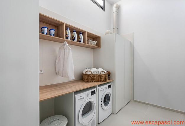 lavandería - Villa de lujo en Alicante: luminosa y muy espaciosa