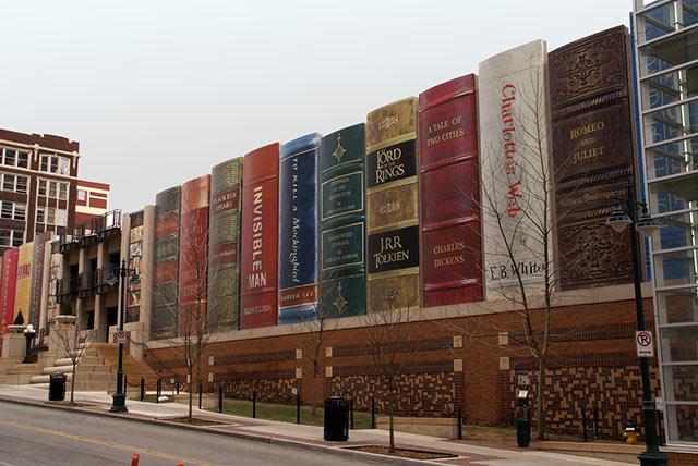 library - Un Mundo de Edificios Extravagantes