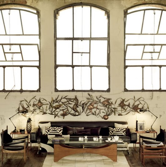 loft decoracion - El cobre crea hogar