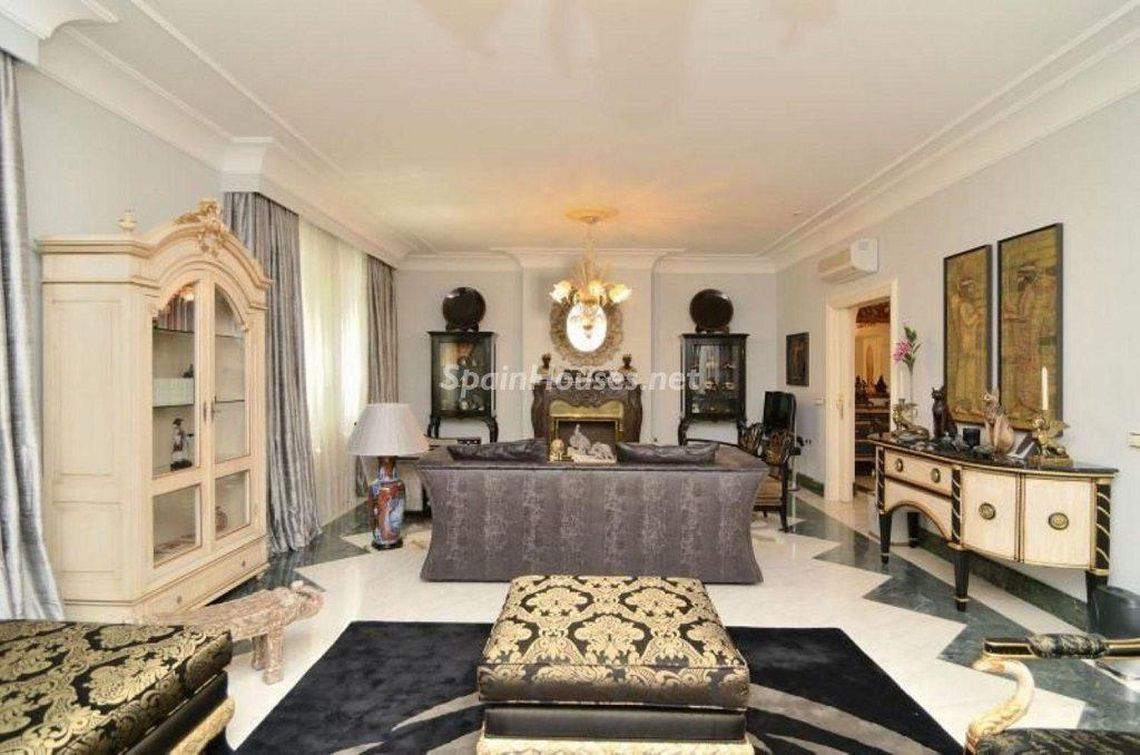 madrid 4 1024x678 - Toque clásico y moderno en 11 cálidos salones de elegante lujo otoñal