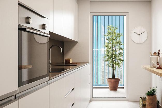 mallorca cocina - Oportunidad de inversión: exclusivo piso con piscina en Mallorca