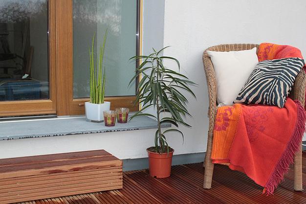 manta terraza - Ideas para decorar una terraza fáciles y asequibles
