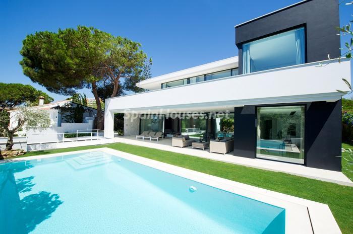 Baños Residenciales Modernos: contemporánea: 16 fantásticas casas de diseño moderno para estrenar