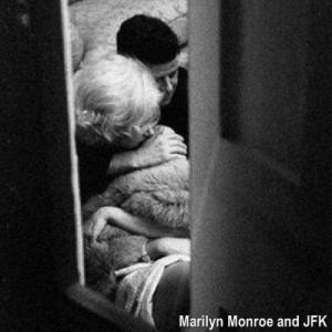 marilyn and JFK 300x300 - Refugio secreto de Marilyn Monroe y JFK