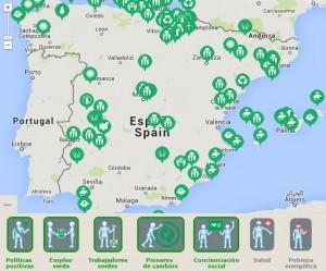 """medioambiente greenpeace 300x249 - Radiografía social del medio ambiente: Los 17 """"puntos verdes"""" de cada comunidad"""