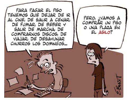 mejor alquilar que comprar - La compra abdica frente al alquiler en las VPO de Andalucía