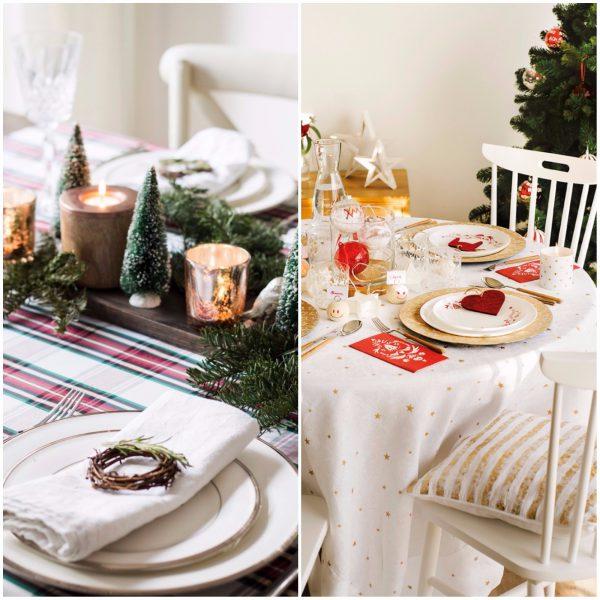 mesa comedor 600x600 - Guía para decorar tu casa al estilo de ¡Oh, Blanca Navidad!