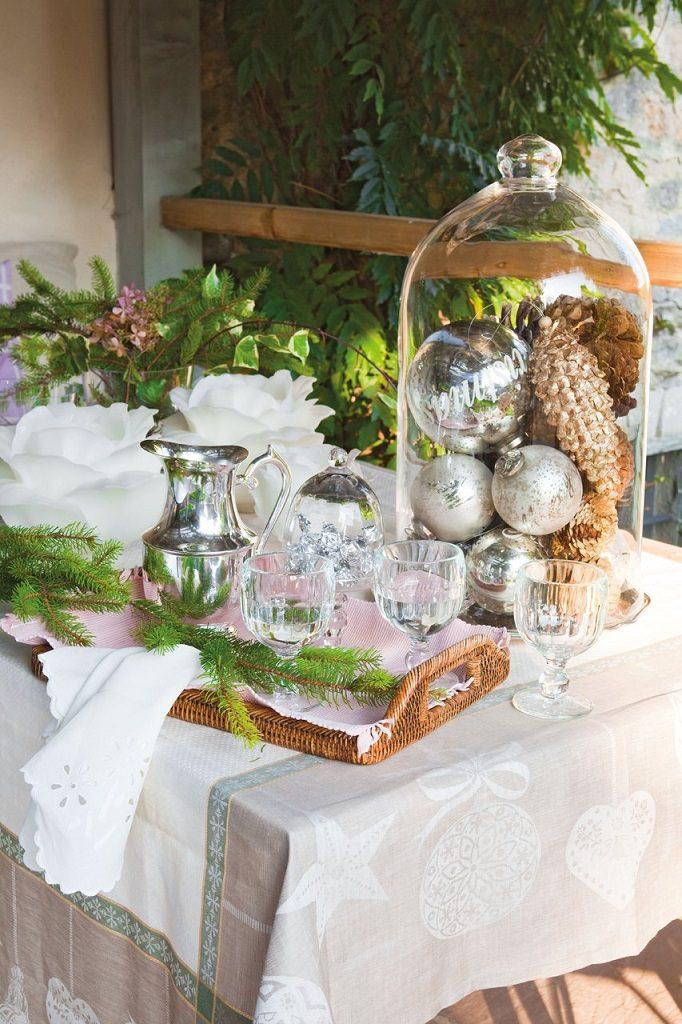 mesa detallenavidad 682x1024 - Nochevieja y Año Nuevo en una casa perfecta para una fiesta campestre y romántica