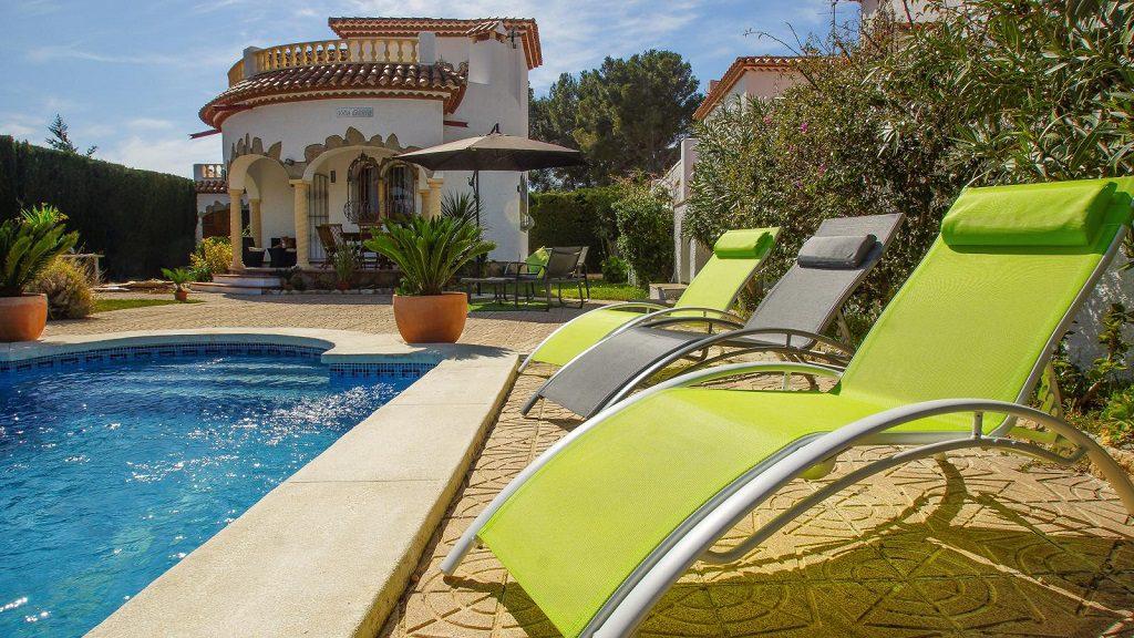 Villa en alquiler de vacaciones en Miami Playa (Costa Dorada, Tarragona)