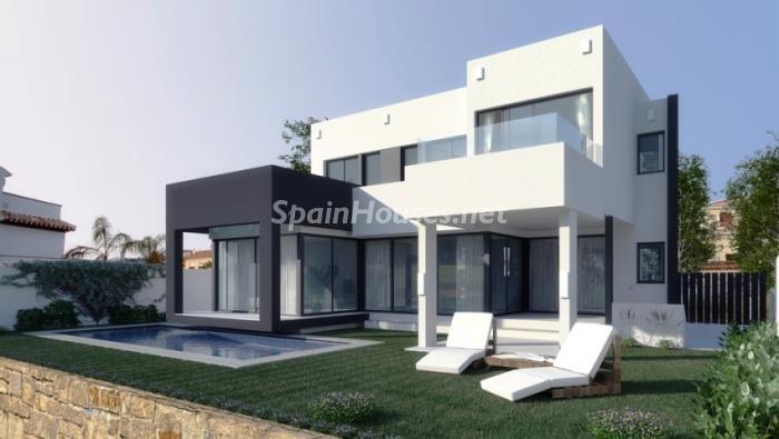 mijas costa - Arquitectura contemporánea: 16 fantásticas casas de diseño moderno para estrenar
