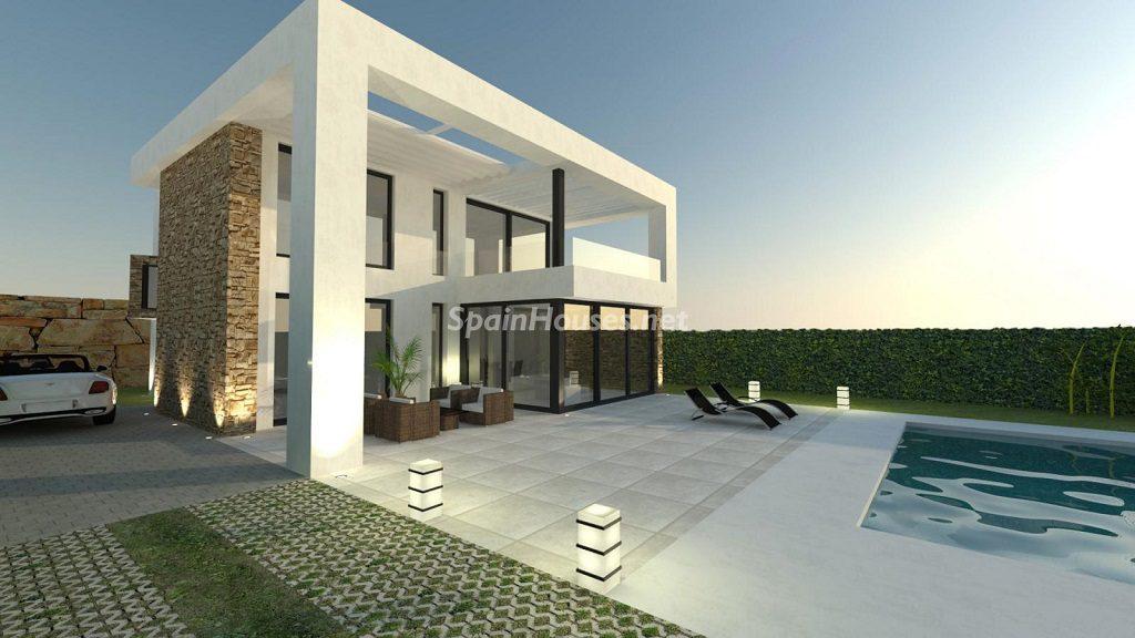 modelo2 casa 1024x576 - Buena Vista Hills, 26 villas modernas con vistas al mar en Mijas (Costa del Sol, Málaga)