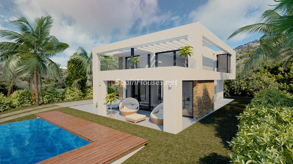 modelo3 1024x576 - Buena Vista Hills, 26 villas modernas con vistas al mar en Mijas (Costa del Sol, Málaga)