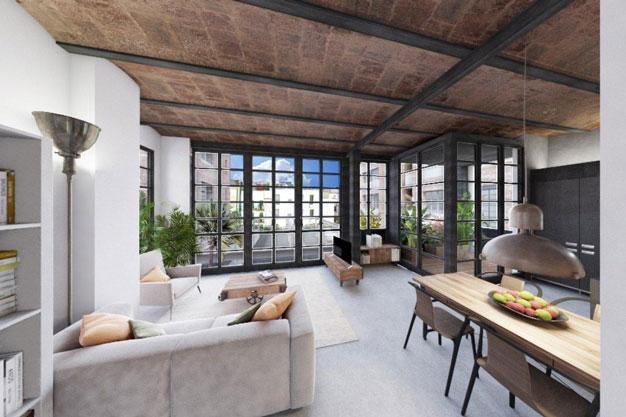 moderno apartamento en el centro de Barcelona para los que buscan un estilo unico - Moderno apartamento en el centro de Barcelona para los que buscan un estilo único