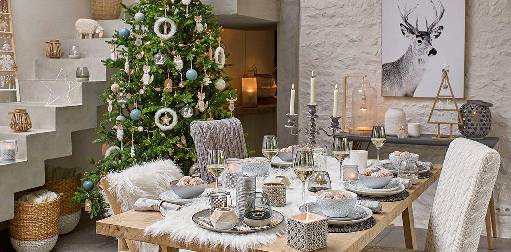 Navidad blanca y natural - Mansion du Monde