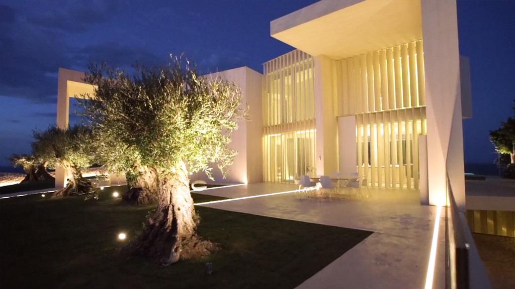 nocturna10 - Casa Sardinera, Jávea (Costa Blanca): diseño imponente y liviano frente al mar
