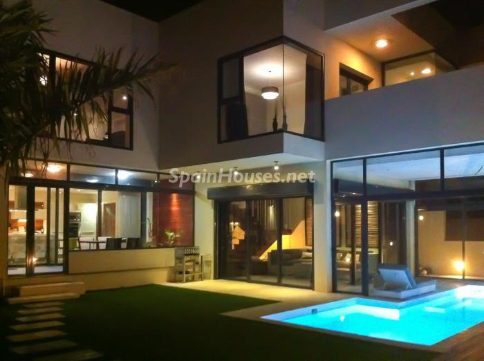 nocturna12 - Precioso chalet de diseño contemporáneo en Las Palmas de Gran Canaria