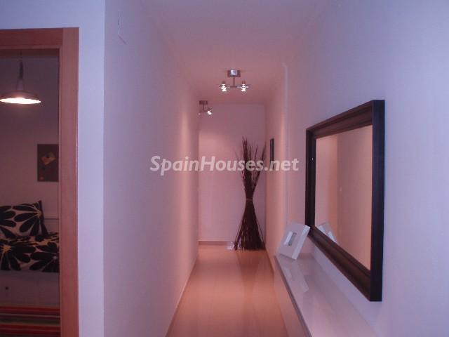 pasillo piso en Oliva - Bonito piso a estrenar en Oliva, Valencia