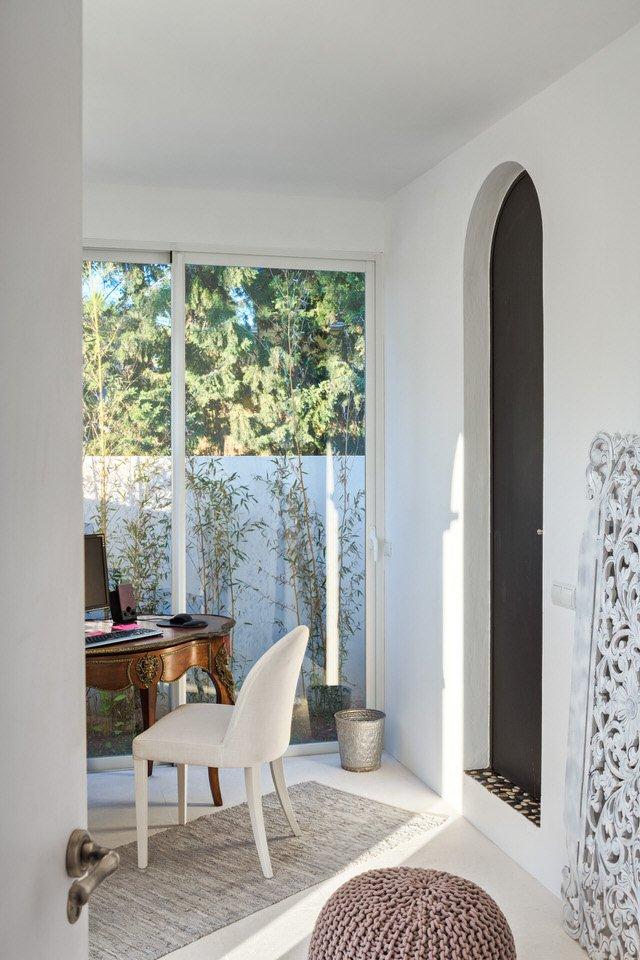 patio 7 - Serenidad minimalista y mediterránea en una genial casa en Sotogrande (Cádiz)