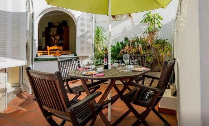 patio13 - Luz, sol y mar en un precioso chalet en alquiler en Benajarafe (Costa del Sol, Málaga)
