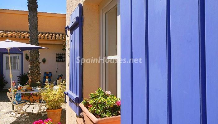 patio andaluz2 - Casa de la Semana: Mágico Chalet en La Manga del Mar Menor, Costa Cálida (Murcia)